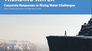 World's largest companies using more water despite growing water risks, newreport warns
