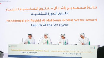 UAE Water Aid Foundation announces US$1m in prizes for 2nd Global Water Award