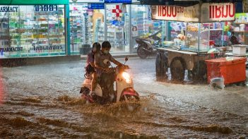 Global Institute for Water Security led-study finds downpours of torrential rain more frequent with global warming