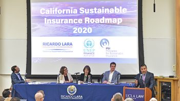 Climate change - wildfire-prone California collaborates with UN on sustainable insurance solution