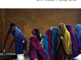 UN chooses nature and climate change as theme for World Water Day 2020