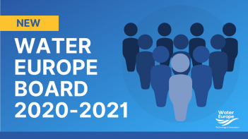 New Water Europe Board appointed for 2020-2021