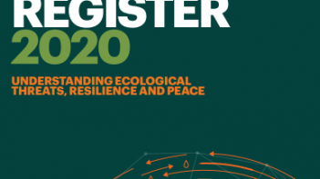 Countries facing the highest number of ecological threats are among the world's least peaceful countries
