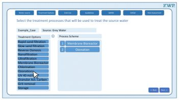 New Water Wise toolprovides decision-support system for water-use and water-reuse cycles