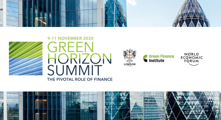 Green Horizon Summit public and private finance initiative opens today in London