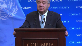 UN Secretary-General issues stark warning over state of planet