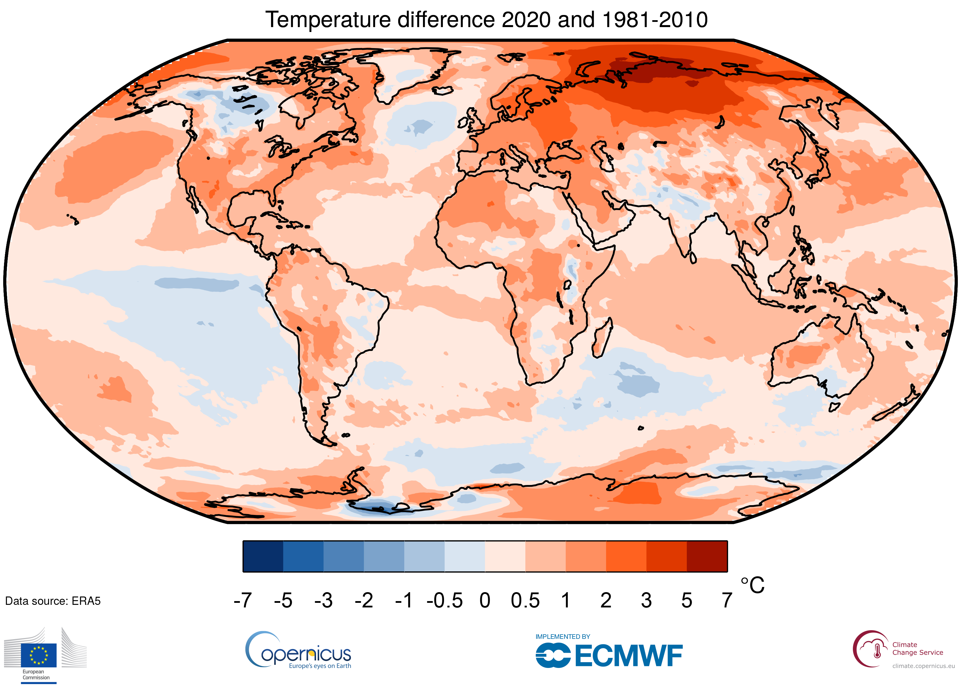 Copernicus: 2020 on par with warmest year ever recorded globally