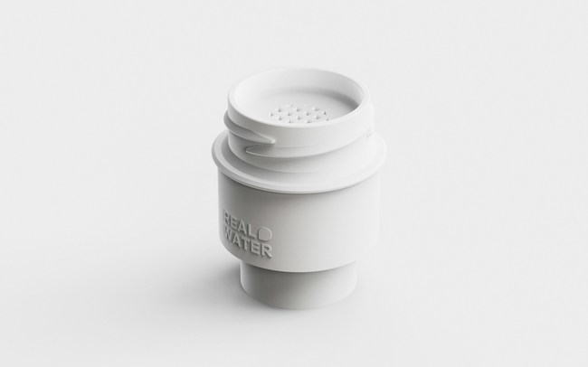 Real Water Korean startup introduces cap for bottled water to filter out microplastics