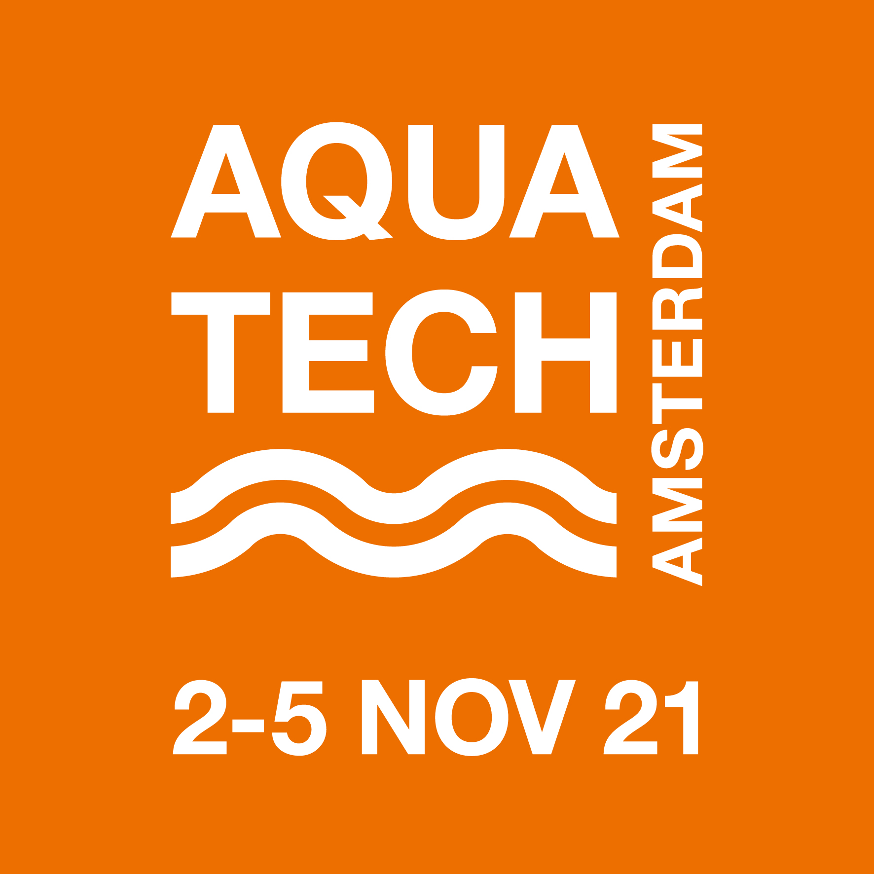 Aquatech Amsterdam to take place live in November 2021