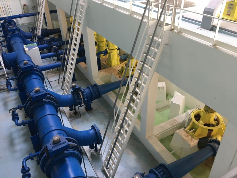Riventa puts Paris Pumping Station on schedule for big savings
