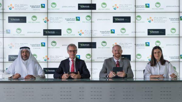 Leading Saudi and UAE investors provide $10m venture capital for Saudi startup to expand salt-water farms