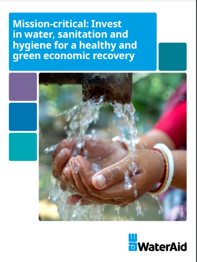 New report: Huge economic benefits of USD trillions if investments in water/sanitation/hygiene are made
